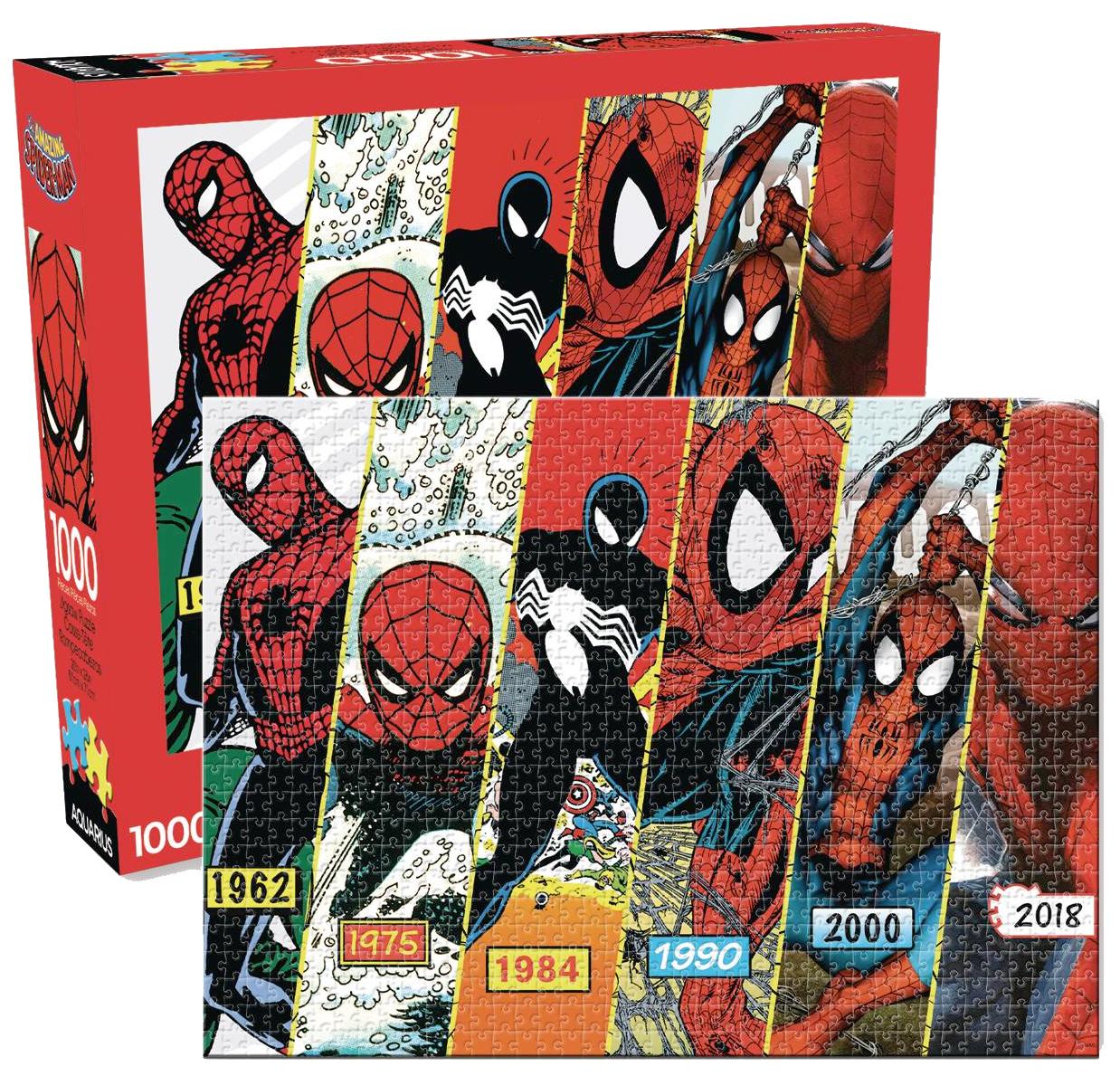 Quebra-Cabeça Spider-Man Timeline