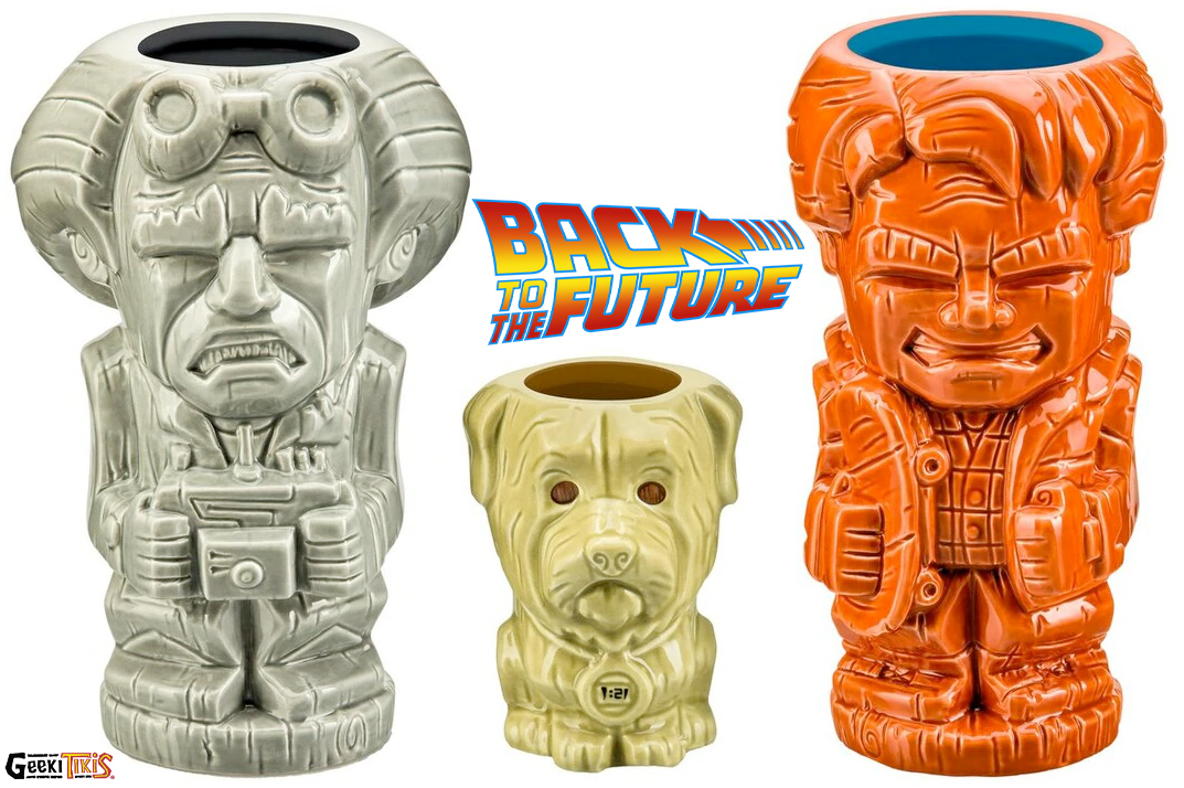 Canecas De Volta para o Futuro Back To The Future Tiki Mugs