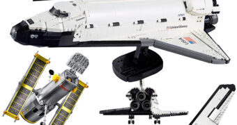 LEGO Space NASA: Ônibus Espacial Discovery e Telescópio Espacial Hubble com 2.354 Peças