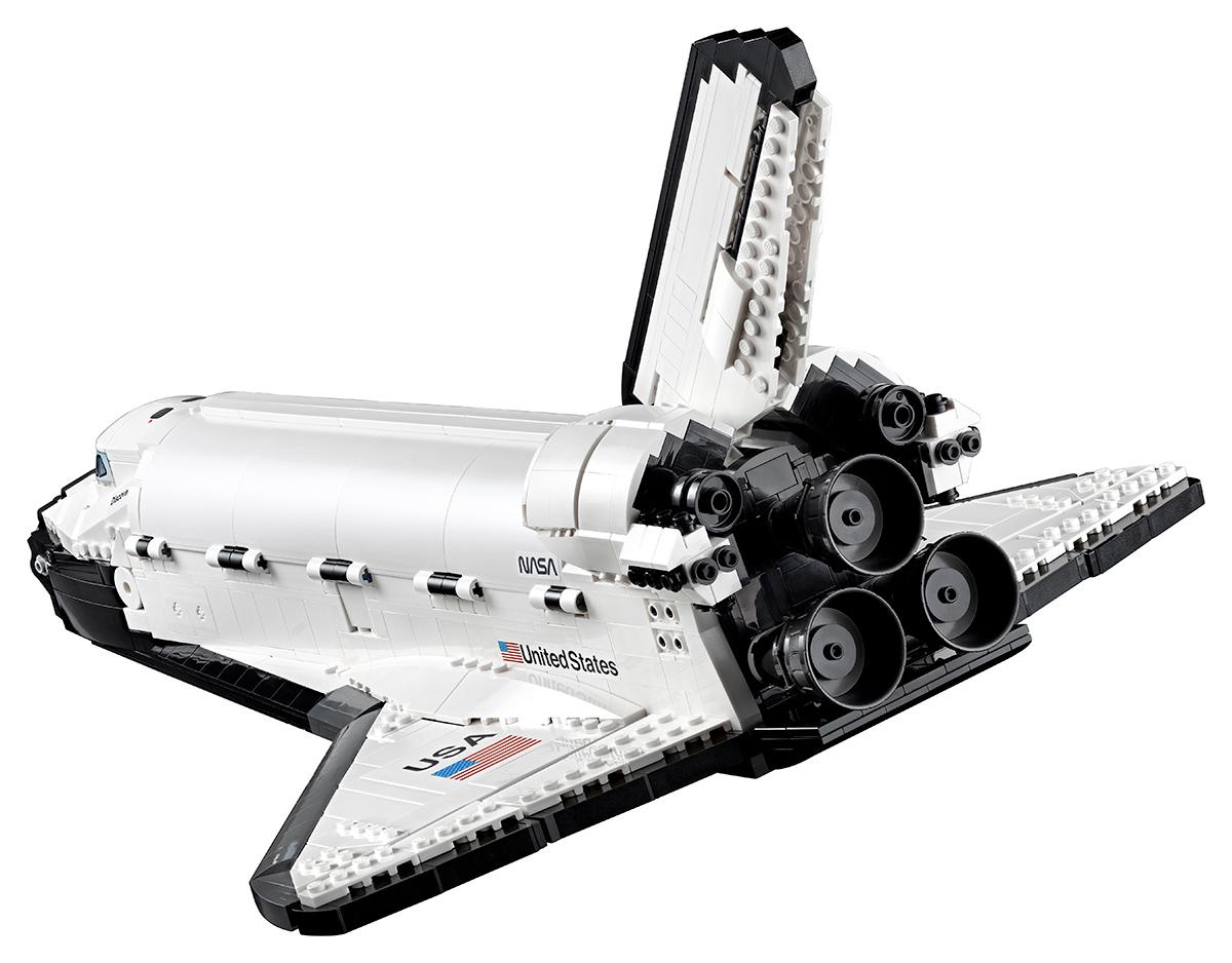 NASA Space Shuttle Discovery e Hubble Space Telescope LEGO Creator