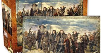 Quebra-Cabeça O Hobbit com 13 Anões, 1 Mago, 1 Hobbit e 3.000 Peças