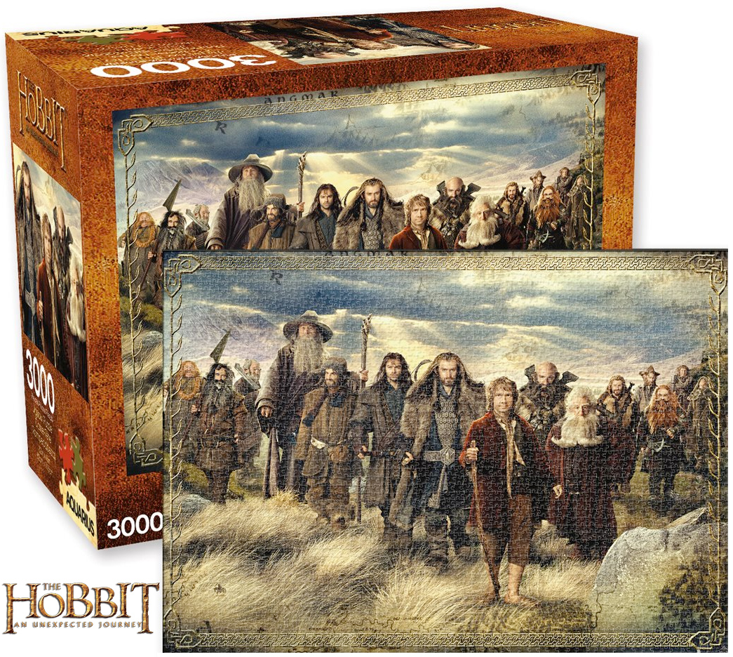 Quebra Cabeca The Hobbit 3000-Piece Puzzle