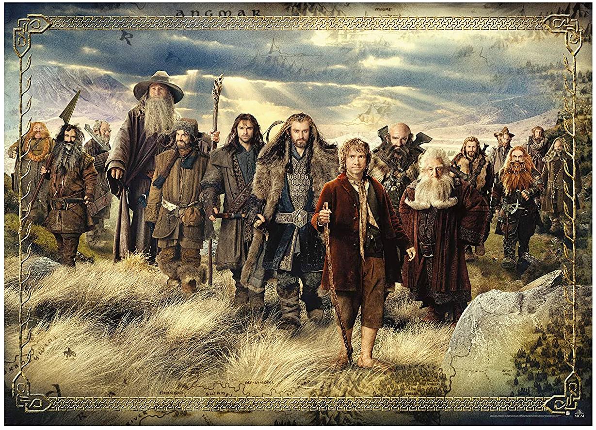 Quebra Cabeca The Hobbit 3000-Piece Puzzle