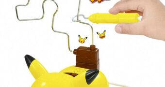 Jogo Pikachu Electric Shock com Choques Elétricos para os Perdedores