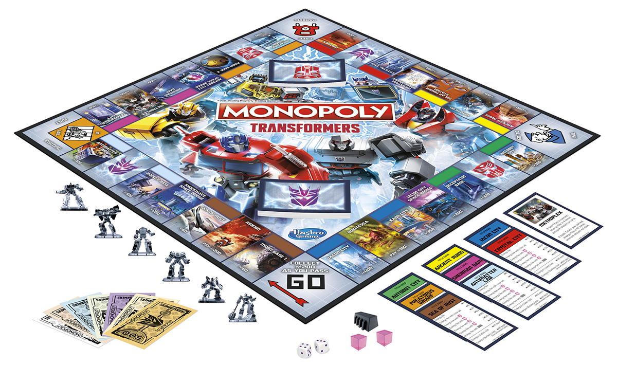Jogo Monopoly Transformers Edition