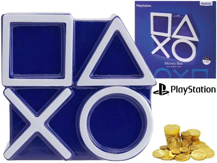 Cofre PlayStation Icons Money Box