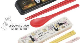 Kits de Hashis Hayao Miyazaki: A Viagem de Chihiro e O Serviço de Entregas da Kiki
