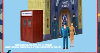 Super-Homem e Os Monstros Mecânicos (1941) – 5 Points Action Figures e Diorama Mezco Toyz