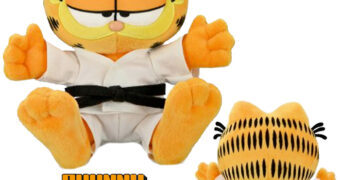 Boneco de Pelúcia Garfield Karatê Phunny da Kidrobot