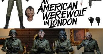 Um Lobisomem Americano em Londres Action Figure Neca Ultimate: Nightmare Demon