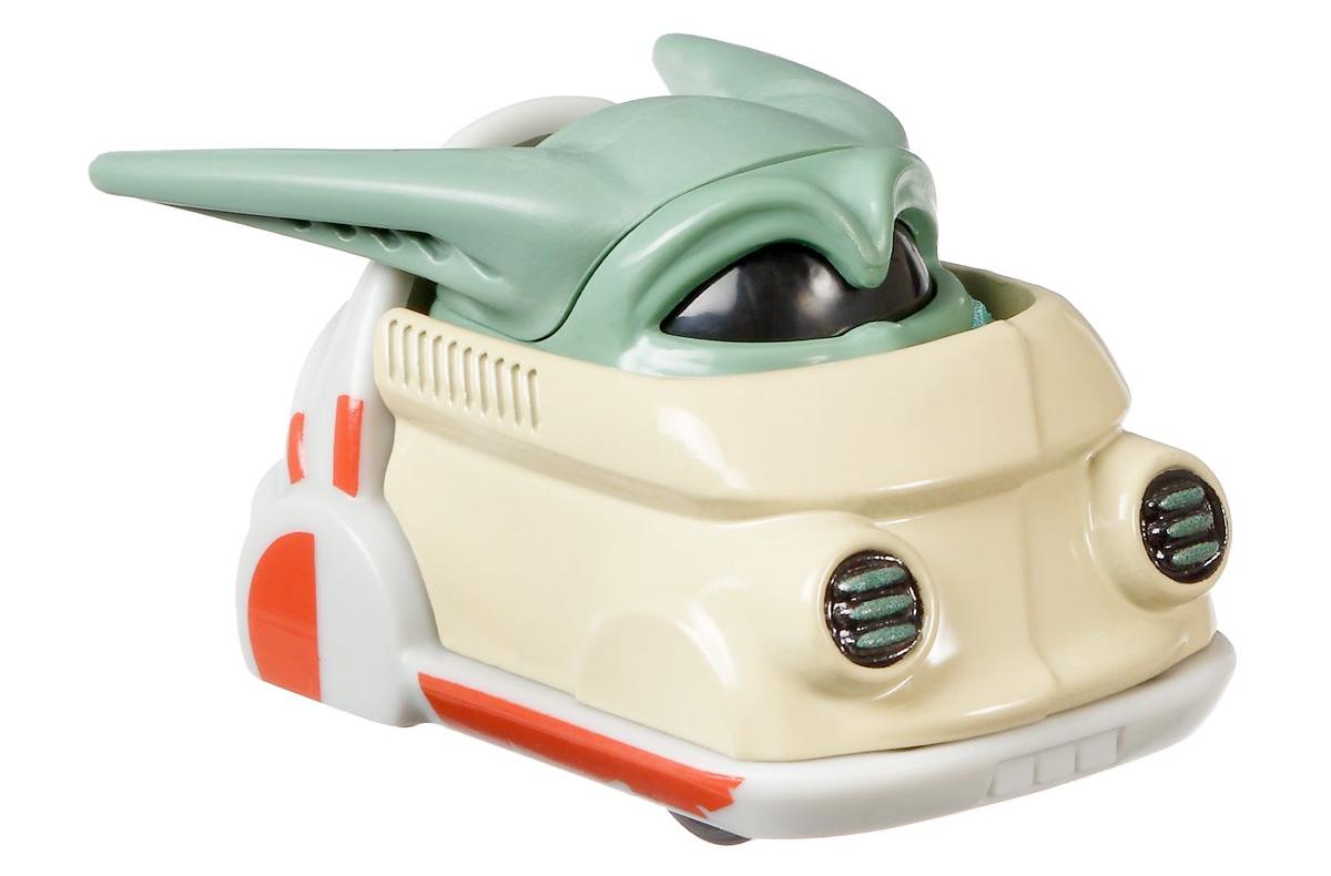 Carrinho Hot Wheels Baby Yoda Star Wars: The Mandalorian