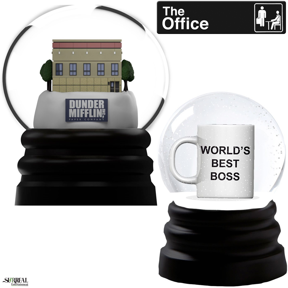 Globos de Neve The Office Snow Globes