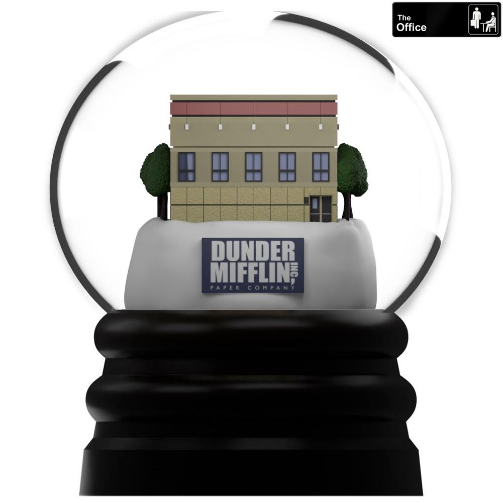 The Office Dunder Mifflin Snowglobe