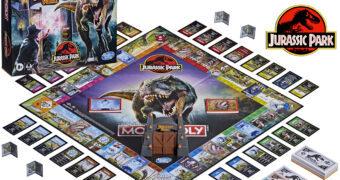 Jogo Monopoly Jurassic Park: O Parque dos Dinossauros