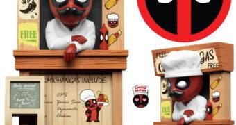 Deadpool Chimichangas Marvel Mini Egg Attack (Beast Kingdom)