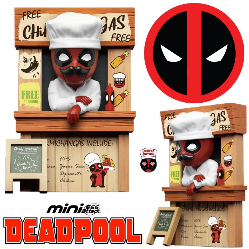 Deadpool Chimichangas Marvel Mini Egg Attack Beast Kingdom