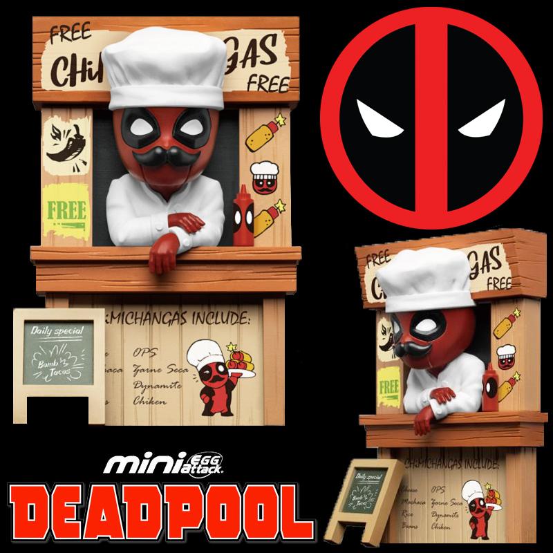 Deadpool Chimichangas Marvel Mini Egg Attack Beast Kingdom