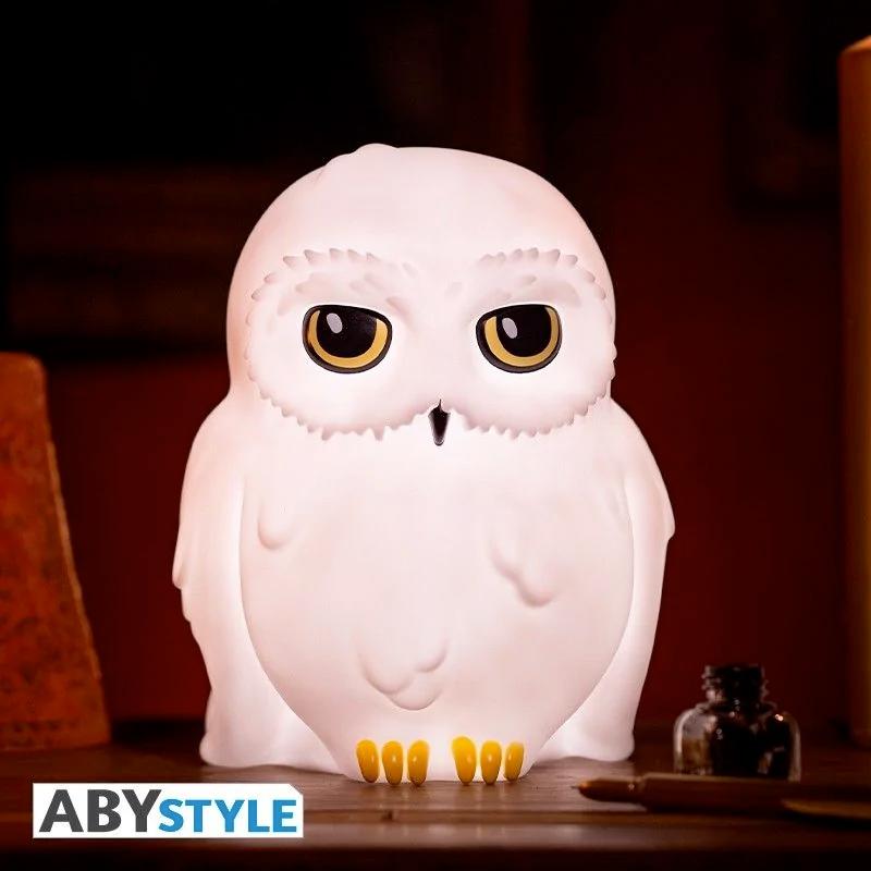 Luminária Coruja-das-Neves Edwiges Hedwig Harry Potter