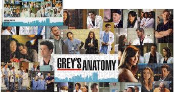 Quebra-Cabeça Grey's Anatomy com 1.000 Peças