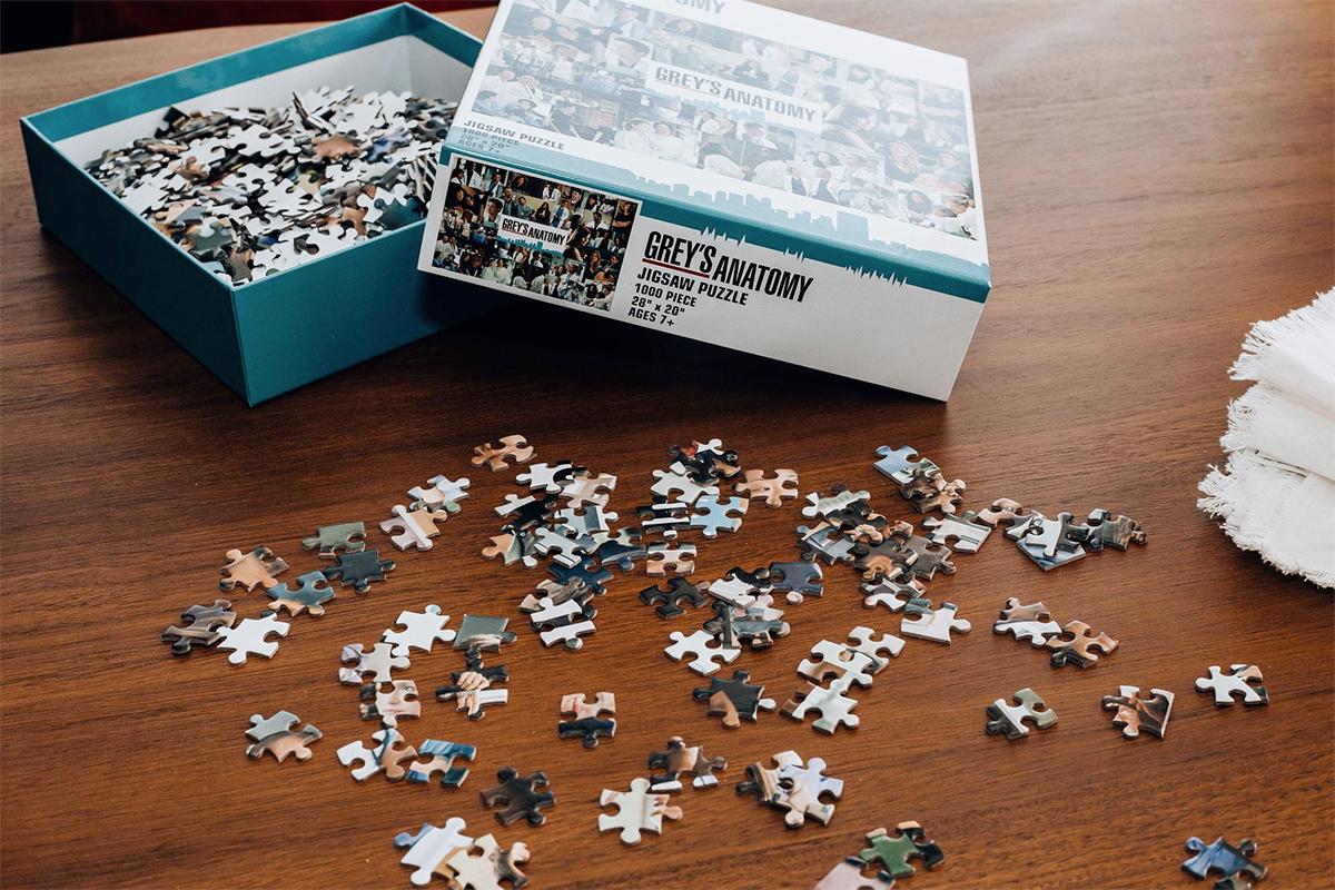 Grey's Anatomy Collage 1000 Piece Jigsaw Puzzle