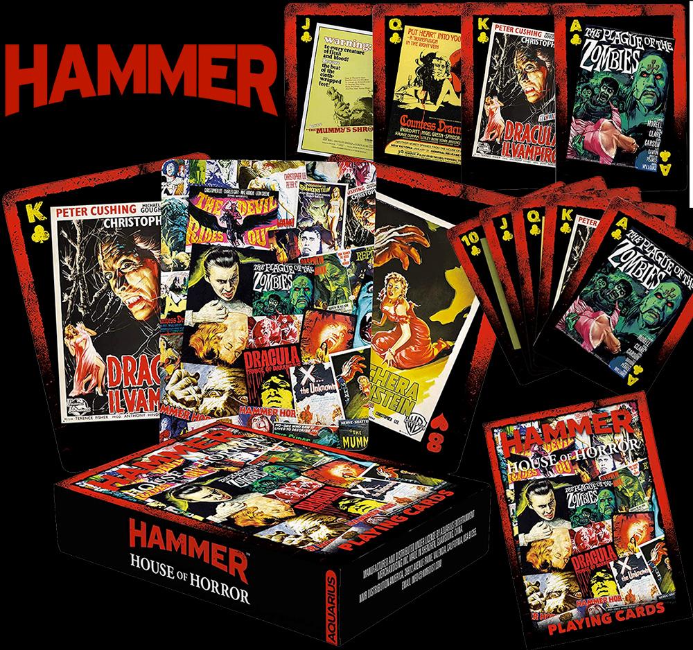 Baralho Hammer House of Horror