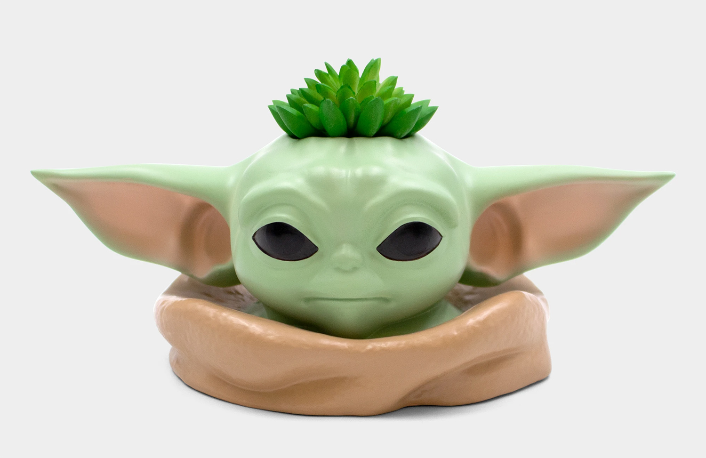 Vaso de Plantas Baby Yoda The Child Planter Star Wars The Mandalorian