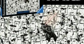 Quebra-Cabeça Impossível Star Wars Ravensburger Challenge com 1.000 Peças