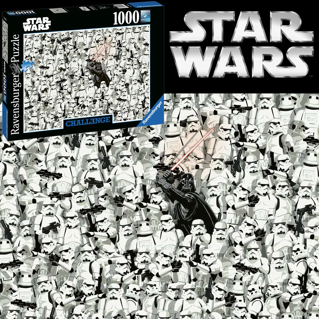 Quebra Cabeca Impossivel Star Wars Challenge Puzzle