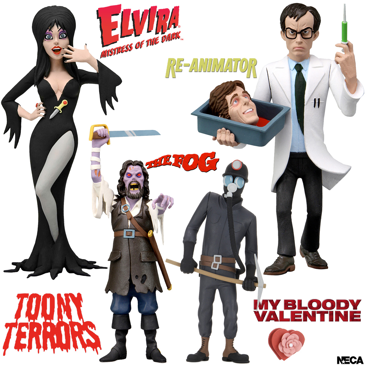"Toony Terrors 6"" Scale Action Figures Wave 6"