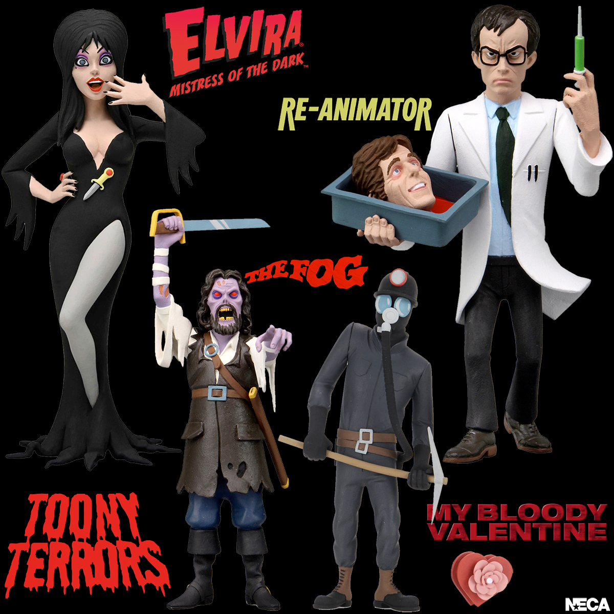 """Toony Terrors 6"""" Scale Action Figures Wave 6"""