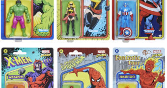 "Action Figures Marvel Legends Retro 375  ""Kenner"" Collection"