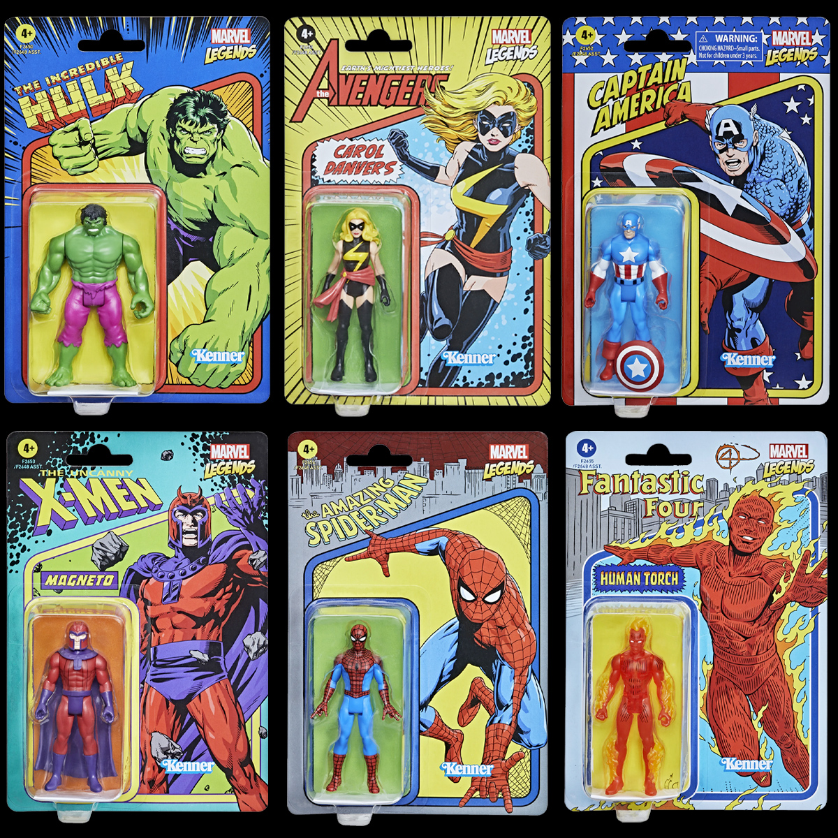 Marvel Legends Retro 375 Collection