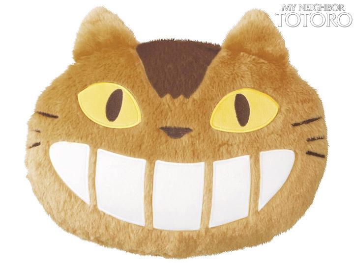 Almofadas Hayao Miyazaki No Face e Catbus