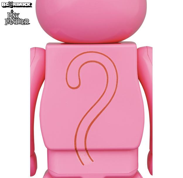 Bonecos Bearbricks Pantera Cor de Rosa Pink Panther