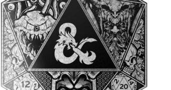 Quebra-Cabeça Dungeons & Dragons com 750 Peças e Formato Hexagonal