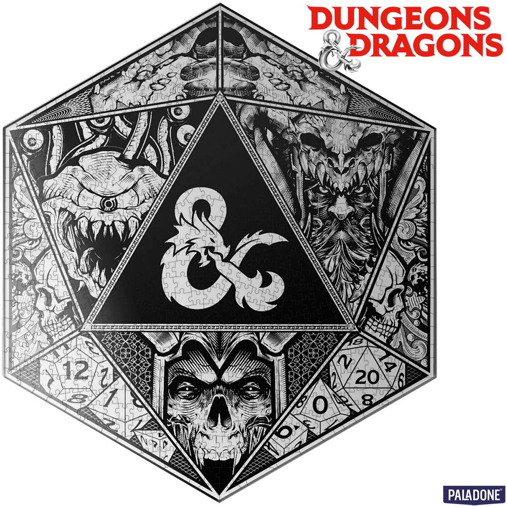 Quebra-Cabeça Dungeons & Dragons com 750 Peças