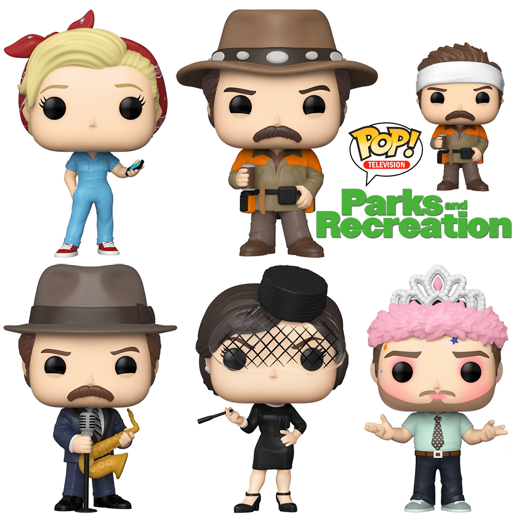 Bonecos Pop! Parks and Recreation Série 2
