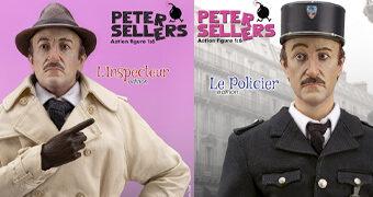 Inspector e Policial Jacques Clouseau (Peter Sellers) – Action Figure Infinite 1:6 de A Pantera Cor-de-Rosa