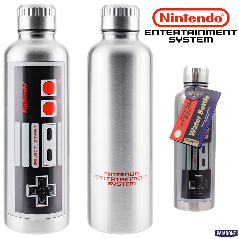 Garrafa de Metal Nintendo NES Metal Water Bottle