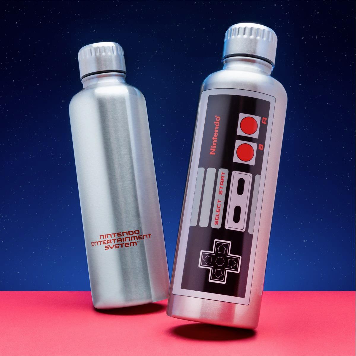 Garrafa de Metal Nintendo NES Metal Water Bottle