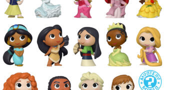 Princesas Disney Ultimate Mystery Minis – Mini-Figuras Funko Blind-Box