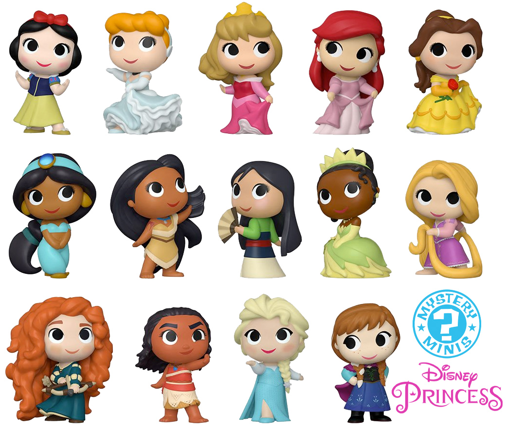 Disney Ultimate Princess Mystery Minis