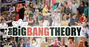 Quebra-Cabeça The Big Bang Theory com 1.000 Peças