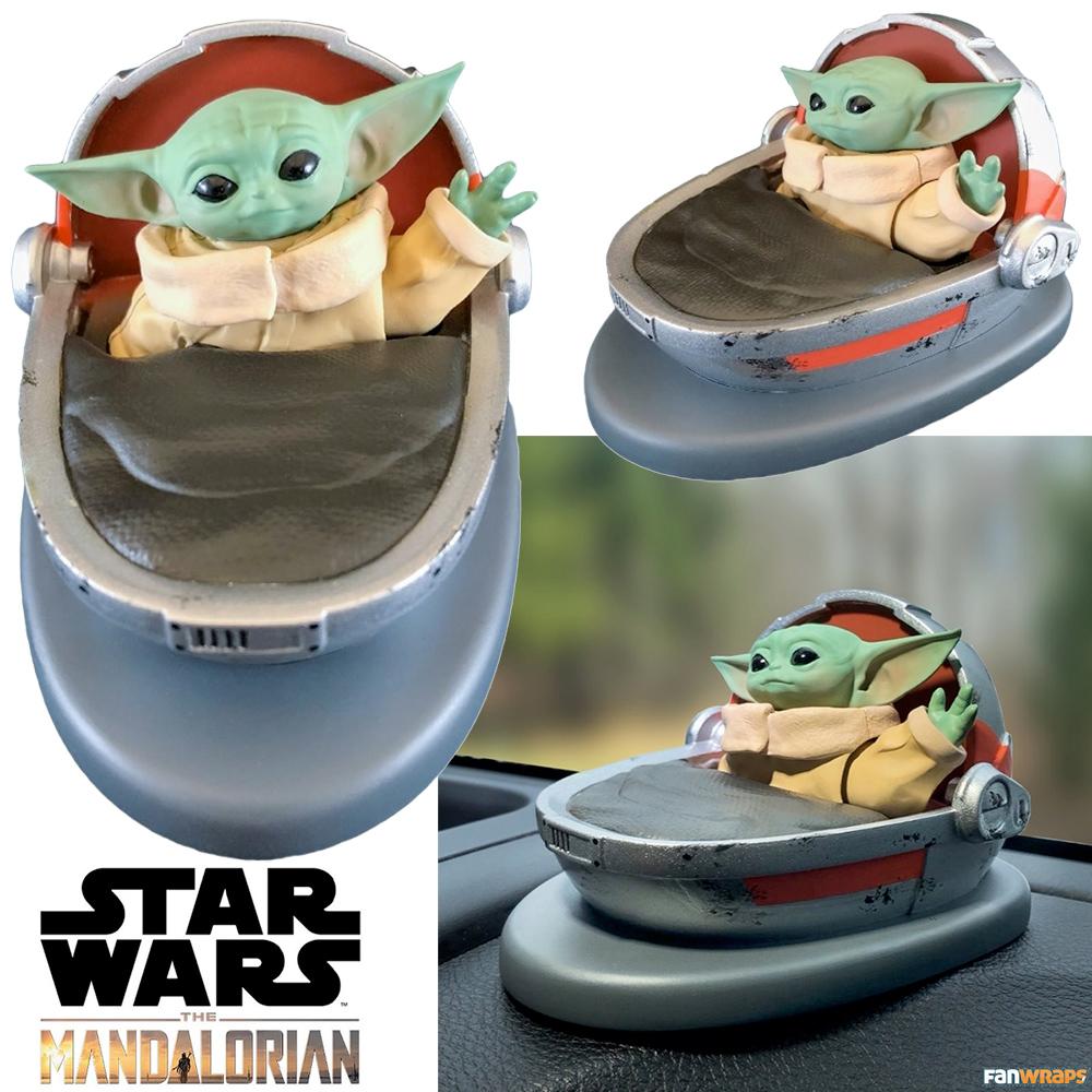 Baby Yoda The Child Solar Powered Dashboard Waver Star Wars-The Mandalorian