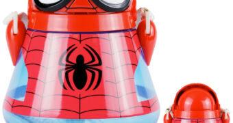 Cantil Homem-Aranha Spider-Man Flip-Top (Disney Store)