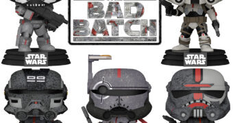Bonecos Pop! da Nova Série Star Wars: The Bad Batch (Disney+)