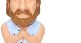 Brinquedo Anti-Stress Chuck Norris em Invasão USA