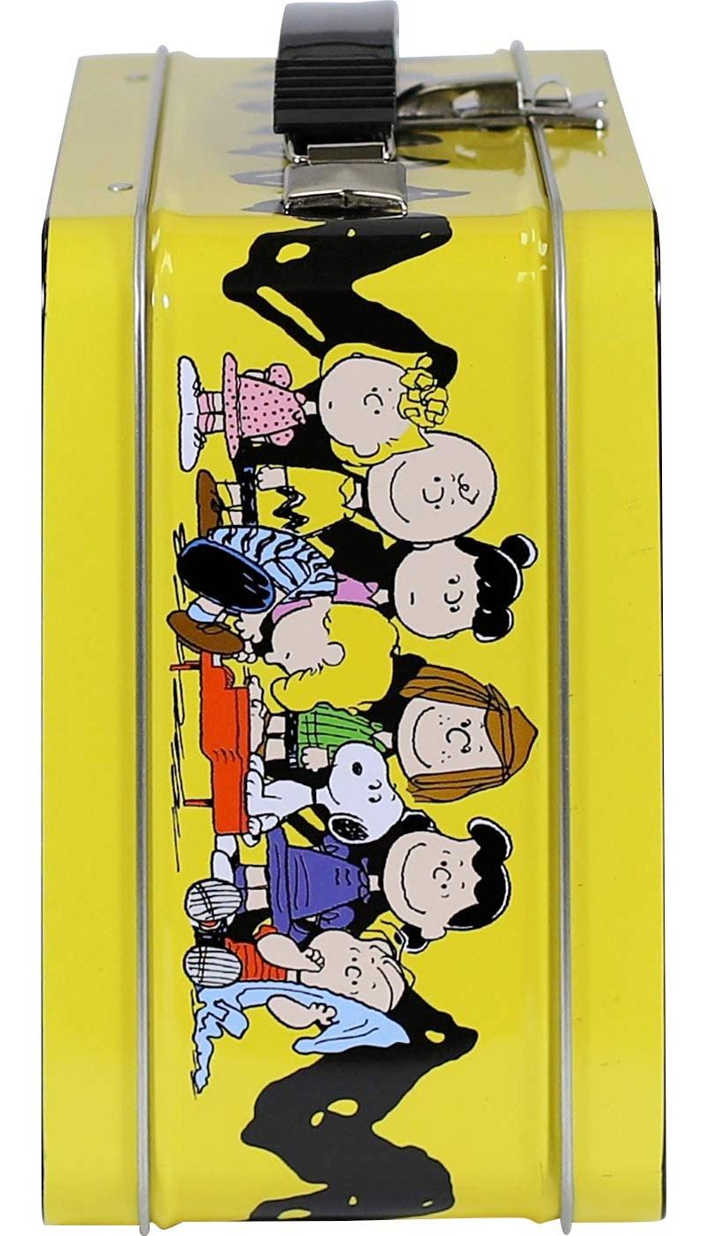 Lancheira Peanuts Cast Gen 2 Fun Box Tin Tote