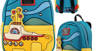 Mochila The Beatles Yellow Submarine Loungefly