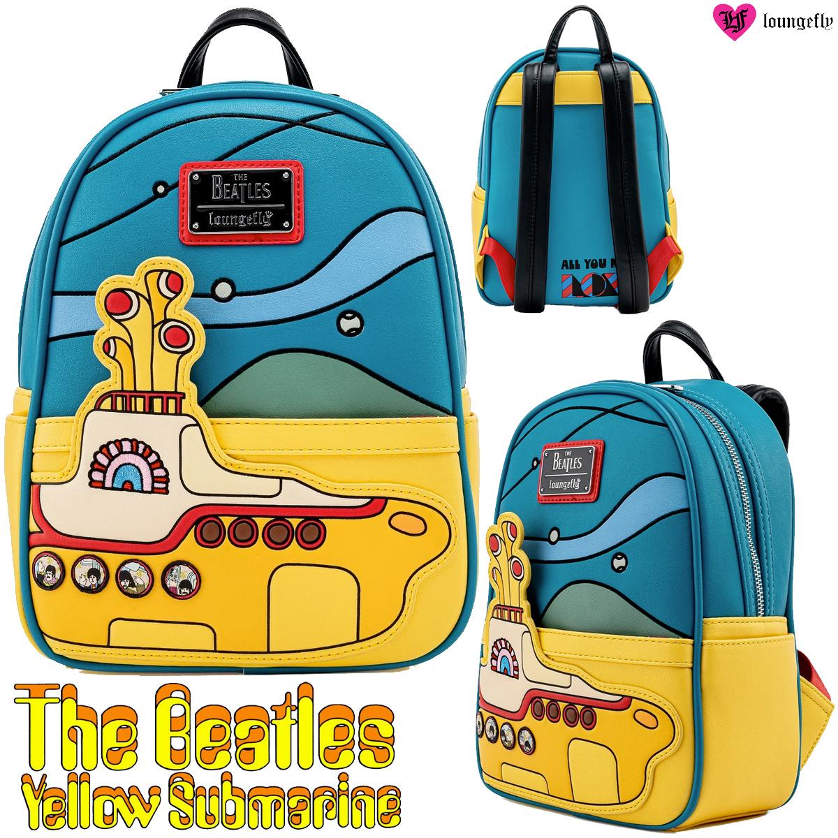 Mochila The Beatles Yellow Submarine Loungefly